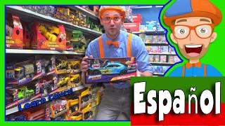 Aprende Los Colores con Blippi Español en La Juguetería en 4K - Educacionales Para Preescolares