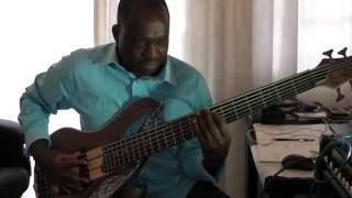 Neyi Zimu with Benjamin Dube - Lamb of God Bass Cover