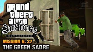 GTA San Andreas Remastered - Mission #27 - The Green Sabre (Xbox 360 / PS3)