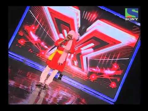 X Factor India - Sharad Bhalerao singing Marathi folk Navri Natali - X Factor India - Episode 1 -  29th May 2011