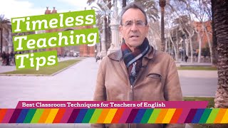 60 Tips: Best classroom techniques for teachers of English