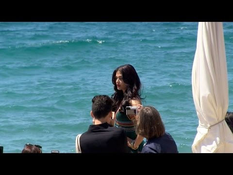 Xxx Mp4 Aishwarya Rai Shooting Session On The Beach In Cannes 3gp Sex