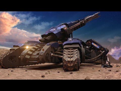 THE TANK starcraft siege tank animation