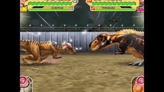 Dinosaur King Arcade Game 恐竜キング - Secret Dinosaurs VS T-Rexs [2 VS 2]