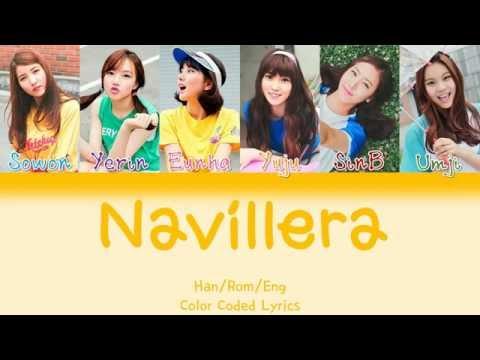 GFRIEND (여자친구) - NAVILLERA (너 그리고 나) [HAN|ROM|ENG Color Coded Lyrics]