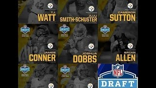 2017 Pittsburgh Steelers ll Win it for Dan ll Draft Wrap-Up ll