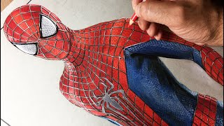 Speed Drawing: Spiderman - Timelapse | Artology
