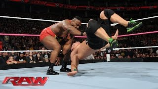 John Cena vs. Big E - United States Championship Match: Raw, Oct. 5, 2015