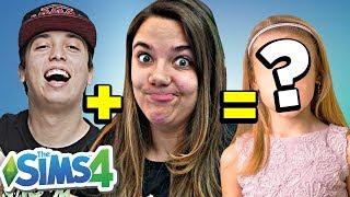 DESAFIO DA GENÉTICA!! - The Sims 4 | Malena0202
