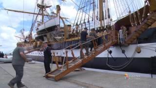 Marina Militare - Nave Amerigo Vespucci in sosta a Sines in Portogallo