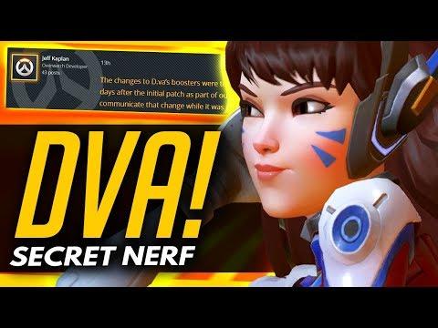 Overwatch   THE SECRET DVA NERF - Rise Of TRIPLE DPS?