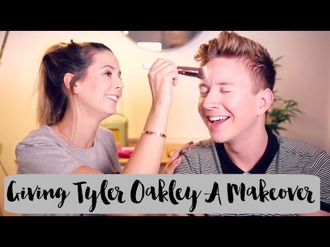 Giving Tyler Oakley A Makeover Zoella