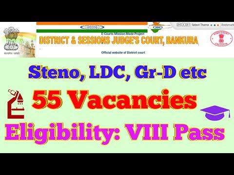 Xxx Mp4 711 Bankura District Court Vacancy 55 Eligibility VIII Pass More 3gp Sex