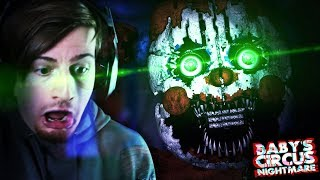 LEGIT.. I AM TERRIFIED OF THIS GAME. || Baby's Nightmare Circus