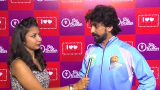 Interview with Tarun Chandra ( Karnataka Bulldozers ) at CCL- Big Brother Foundation