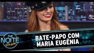 The Noite (16/09/14) - Danilo entrevista Maria Eugênia, da MTV