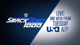 SmackDown 1000 comes to USA Network on Oct. 16
