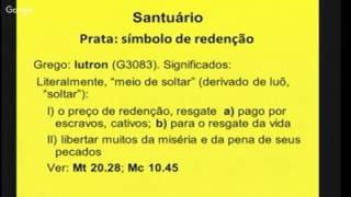 EBD - Livro de Êxodo - O tabernáculo e seus móveis - X - Dc. Lindorifo Duarte