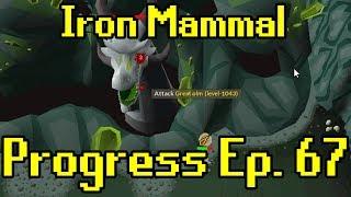 Oldschool Runescape - 2007 Iron Man Progress Ep. 67 | Iron Mammal