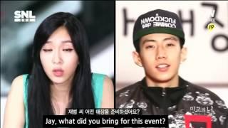 [PIE] SNL korea Mingyo's Revolution [민교의난] English subtitle