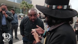 "Jesse Lee Peterson at Women's March ""You dress halfway like a woman"""