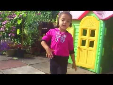 Kyra -mae Dancing to  'i Whip my hair'...