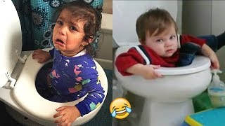 TRY NOT TO LAUGH (Impossible!) - Funny Kids Fails Compilation | BEST VINES