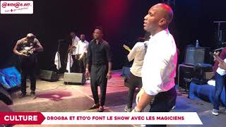Concert : Drogba et Eto