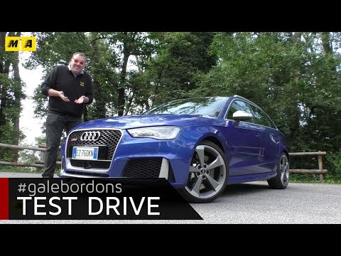 Audi RS3 Test drive AMboxing