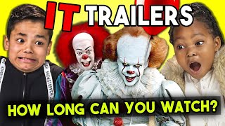 Kids React To IT Chapter 2 Trailer