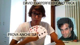 Interactive Magic Trick David Copperfield Card Trick by Jack Nobile Prova anche tu da casa!