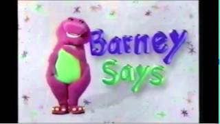 Video from Closing to Barney's Talent Show 1996 VHS
