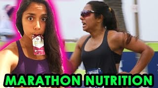 EVERYTHING I ATE DURING MARATHON TRAINING & THE RACE (3:30:09 finish time)