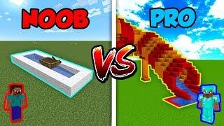 Minecraft NOOB vs. PRO: SLIDE in Minecraft!