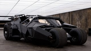 Building Batman's car: the making of the dark knight's tumbler