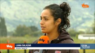 Santa Fe vs. Huila, en busca del primer campeón de la Liga Femenina   Win Sports