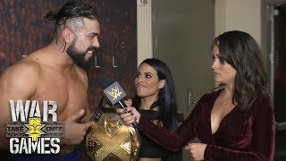 """Andrade """"Cien"""" Almas and Zelina Vega rejoice after NXT Title win: Exclusive, Nov. 18, 2017"""