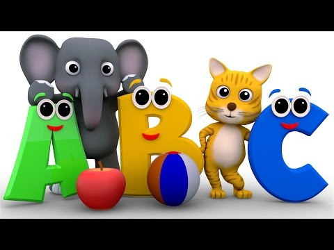 Phonics Song ABC Song 3d Nursery Rhymes Kids Rhymes Baby Videos