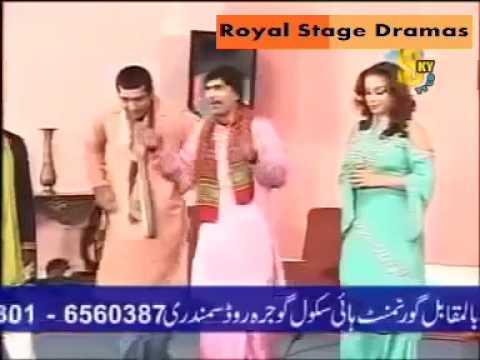 Punjabi Stage Drama Clips Zafri Khan, Sajan Abbas, Khushboo 2016