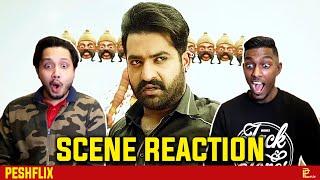 Jai Lava Kusa - Raavan Mass Intro Scene Reaction   Jr. NTR   PESHFlix Entertainment