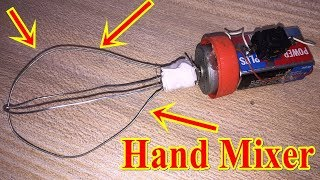 How to make Mini Hand Blender Mixer at home | DIY Mixer Machine