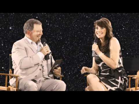 William Shatner Interviews Amanda Tapping