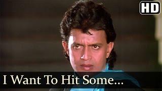 I Want To Hit Somebody - Mithun - Neelam - Waqt Ki Awaz - Hindi Songs - Kishore Kumar - Asha Bhosle