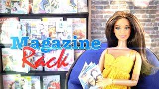 DIY - How to Make: Doll Magazines & Magazine Rack - Handmade - Crafts