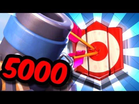 CAN WE HIT 5000 Cups?! Master l Mortar Cycle Deck! - Clash Royale