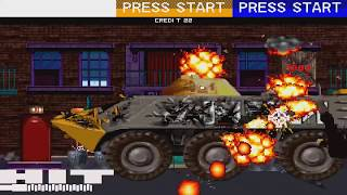 1994 Revolution X Arcade Old School Game Playthrough Retro game