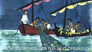 Peter James and John in a Sailboat ~ Cedarmont Kids ~ lyric video