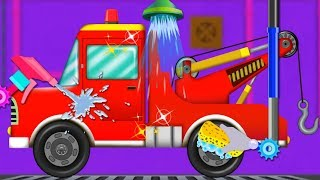 Tow Truck Car Wash | Car Cartoons And Videos For Babies by Kids Channel