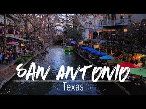 San Antonio TX The Riverwalk and Mission Trail