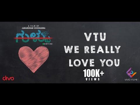 Xxx Mp4 Gultoo VTU We Love You Lyric Video Amit Anand Raghu Dixit Naveen Shankar Janardhan Chikkanna 3gp Sex